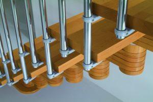 Лестницы универсальные из модулей: особенности конструкции и монтажа