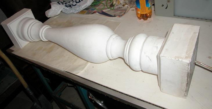 Форма для балясины своими руками