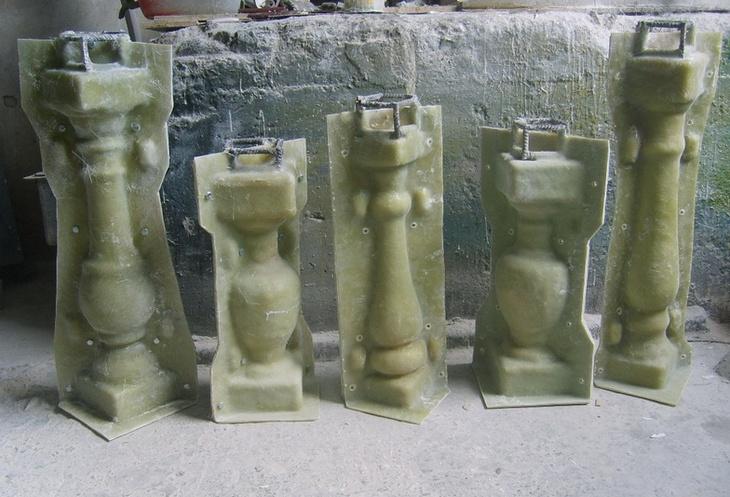 Балясины бетонные своими руками