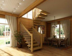 Недорогие и удобные дачные лестницы