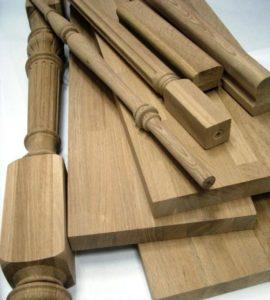 Эффектные балясины из дорогих сортов древесины