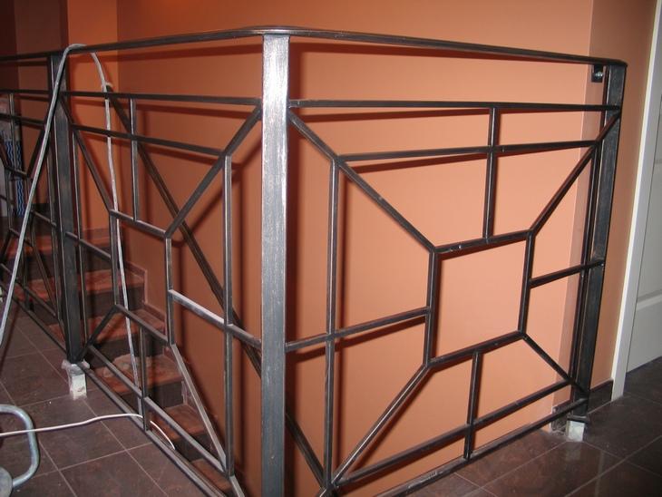 Перила для лестниц из металла своими руками