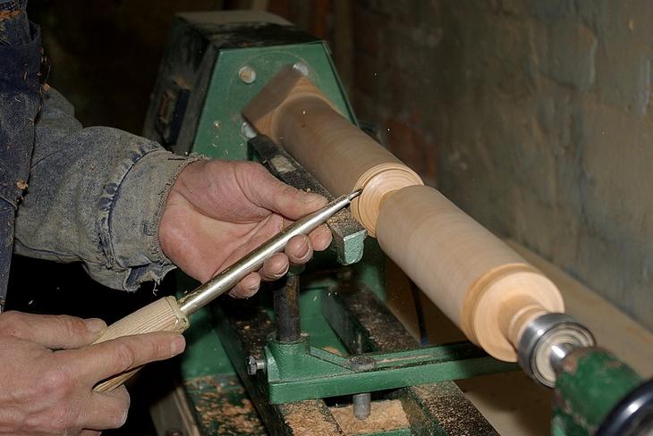 Изделия своими руками на токарном станке по дереву 37