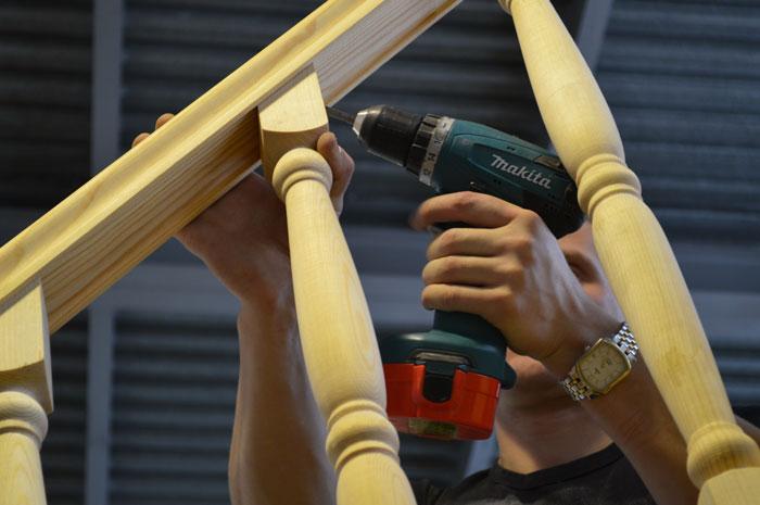 Балясины деревянные своими руками фото