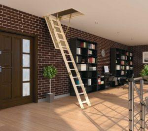 Удобство и изящество чердачных лестниц fakro