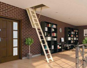 Компактные и практичные чердачные лестницы