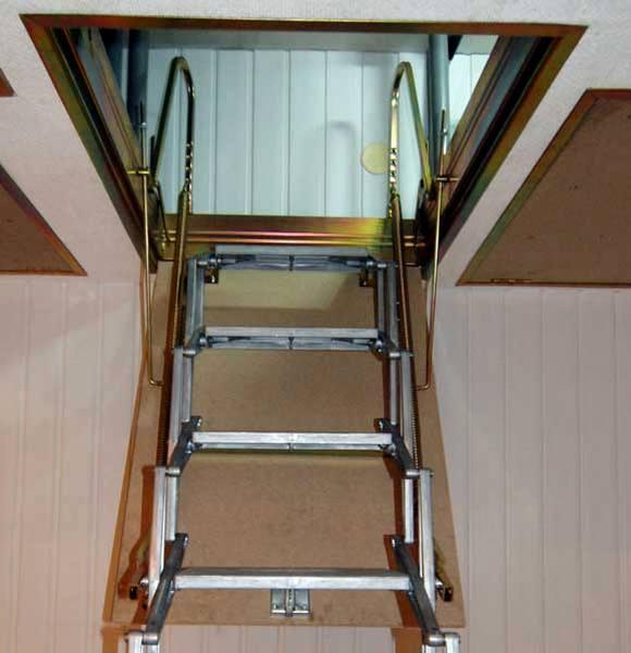 Как сделать чердачную лестницу 953