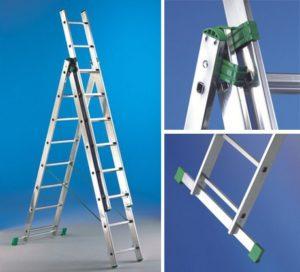 Оптимальная рабочая высота лестницы