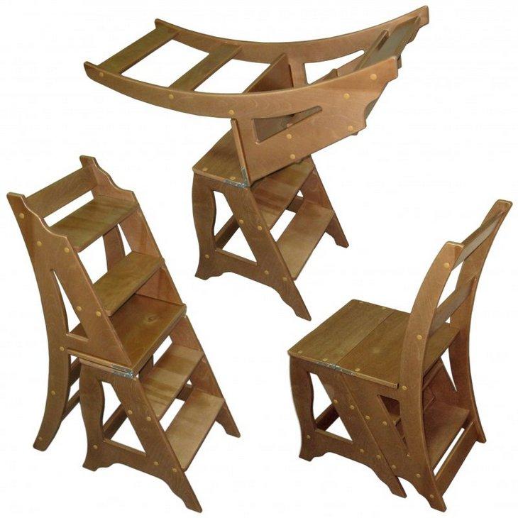 Трансформеры: стул и одновременно лестничка