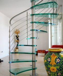 Винтовые лестницы: из чего складывается их цена?