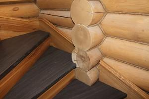 Лестница в деревянном доме: эстетика и безопасность