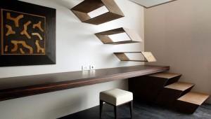 Изюминка в дизайне интерьера: лестница-акцент