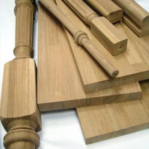Практичные элементы лестницы из сосны