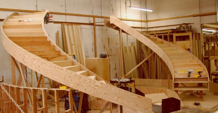 Лестница изготовление своими руками