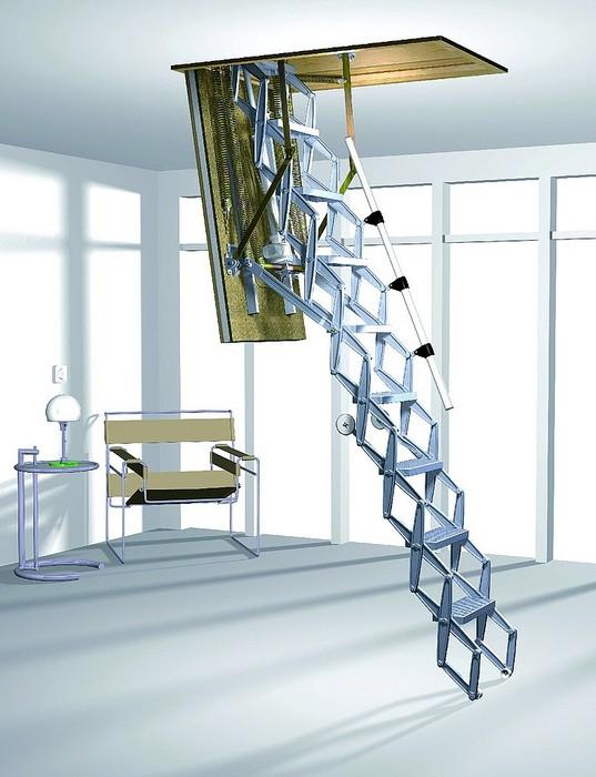 Чердачные лестницы с люком размер видео фото цена