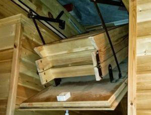 Лестница с люком на чердак: удобно, функционально