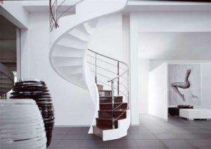 Бетонные монолитные лестницы: устройство и преимущества