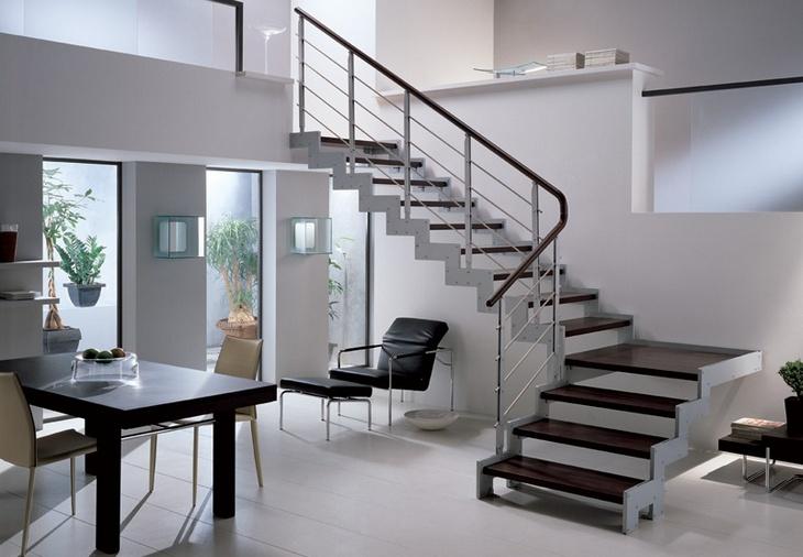 Изготовление каркасов металлических лестниц