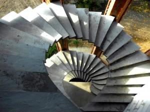 Лестницы из бетона в частном доме