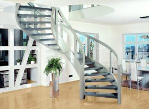 Лестницы из металла в современном интерьере