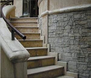 Дома с высоким фундаментом: входная лестница