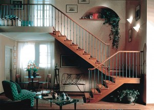 Лестница для частного дома: проблема выбора