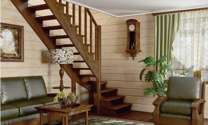 Внутридомовые лестницы в частном доме
