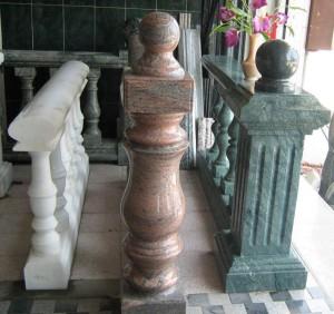 Перила из мрамора: роскошь и долговечность
