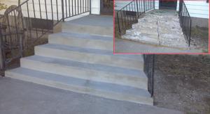 Ремонт бетонных лестниц