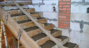 Лестница из бетона своими руками пошаговая инструкция