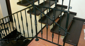 Металлическая лестница – сочетание красоты и надежности