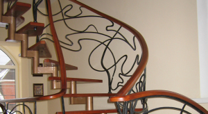 Очаровательные перила – эстетика лестницы