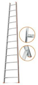 Характеристики двухсекционной лестницы Эйфель Гранит 2х10