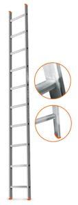 Характеристики моделей приставной лестницы Эйфель Гранит