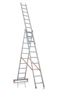 Трёхсекционная лестница Эйфель гранит 3х10