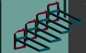 Как выполнить расчёт и проектирование консольной лестницы?