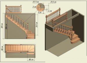 Расчет деревянной лестницы на второй этаж на тетиве онлайн калькулятор