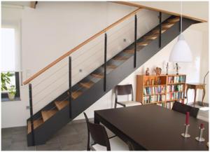 Тетива для лестницы из металла