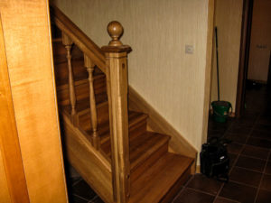 Тетива для лестниц из дуба