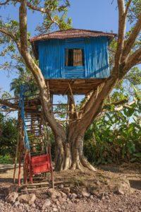 Детский домик на дереве своими руками