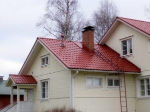 Самостоятельная установка лестницы для крыши